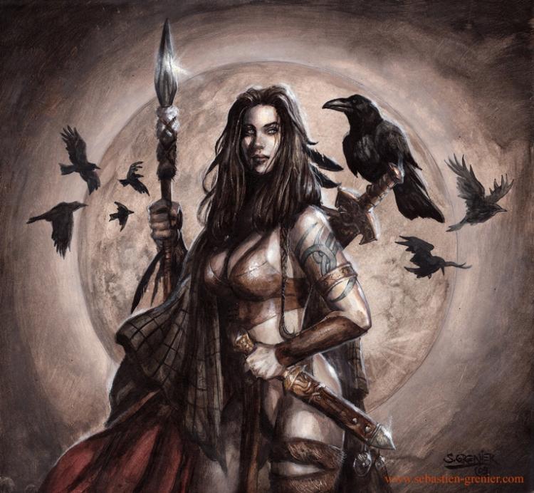 celtic_warrioress_by_sebastien_grenier-d36rxag